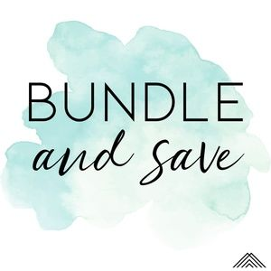 Save 15% when you bundle 2 or more items!